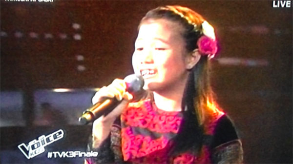 Antonetthe Tismo Pangako The Voice Kids Philippines finals