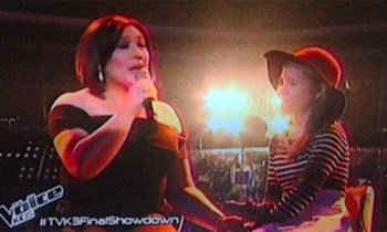 Watch: Antonetthe Tismo and Coach Sharon sings 'Batang Bata Ka Pa' on The Voice Kids Philippines Grand Finals