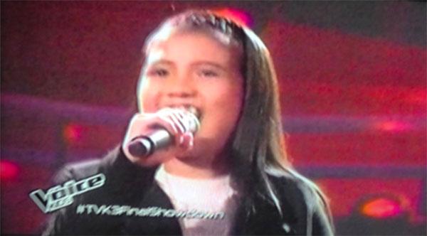 Antonetthe Tismo sings Lets Get Loud
