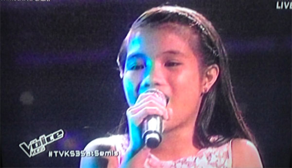 Antonetthe Tismo the voice kids ph semifinals live shows