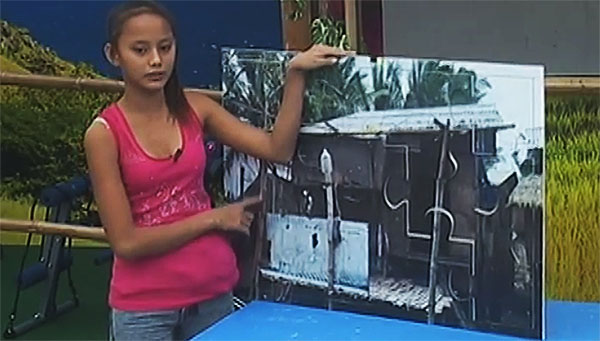 Badjao Girl Rita Gabiola shows small house reflects inspiring story video