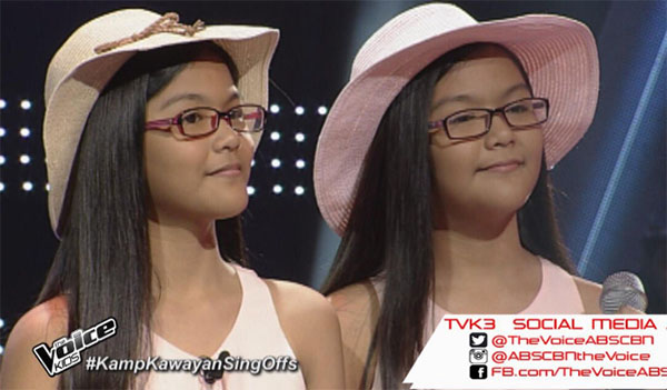 Ezra and Elisha Villaluz the voice kids ph