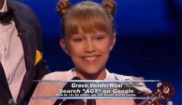 Grace VanderWaal agt semifinals