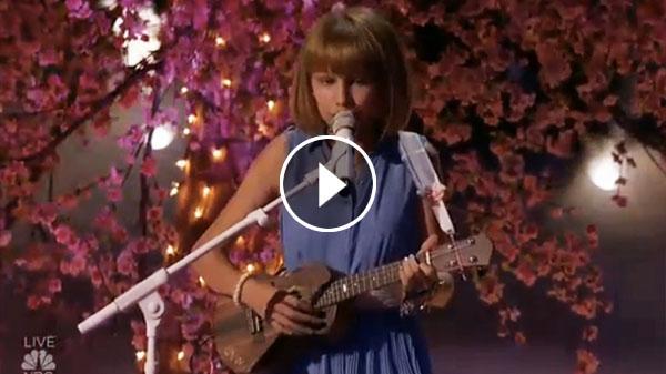 Grace VanderWaal sings original song Beautiful Thing AGT video