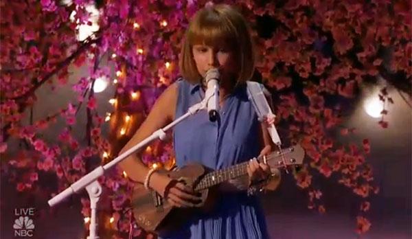 Grace VanderWaal sings original song Beautiful Thing AGT