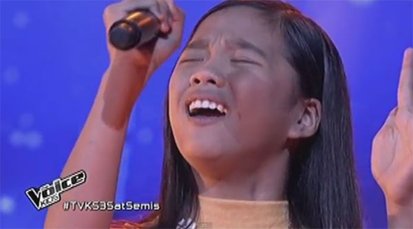 Heart Salvador the voice kids ph semifinals live