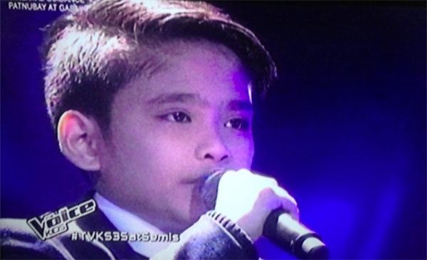 JC Tan the voice kids semifinals live shows