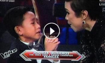 Watch: Joshua Oliveros crowned winner of The Voice Kids Philippines Season 3