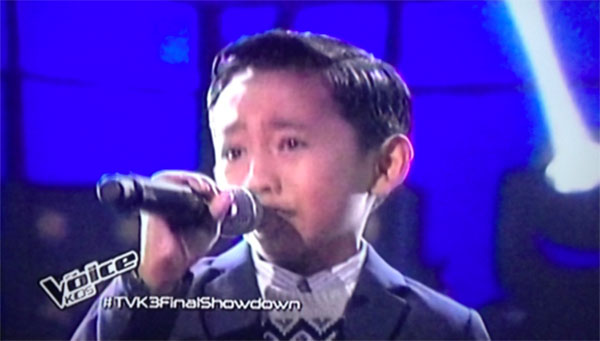 Joshua Oliveros mangarap ka the voice kids ph