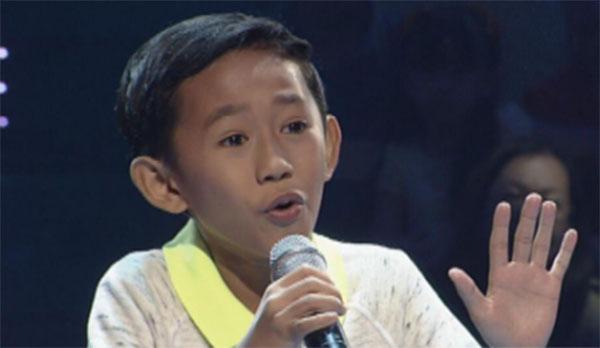 Joshua Oliveros the voice kids ph sing offs ikaw