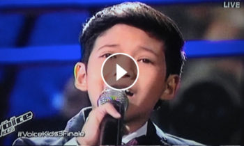 Watch: Justin Alva sings 'How Will I Know' on The Voice Kids Philippines Live Finals