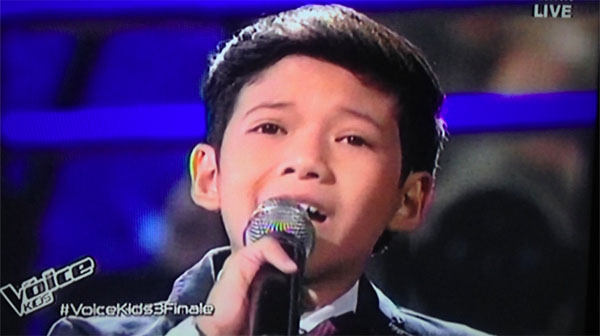 Justin Alva How Will I Know on The Voice Kids Philippines finals