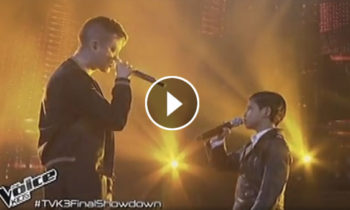 Watch: Justin Alva and Coach Bamboo sings 'Stitches' on The Voice Kids Philippines Live Grand Finals