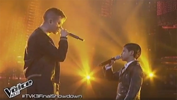 Justin Alva and Bamboo sings Stitches the voice kids ph