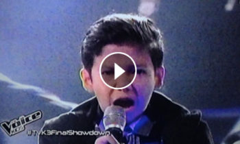 Watch: Justin Alva sings 'Monster/Lose Yourself' on The Voice Kids Philippines Live Finals