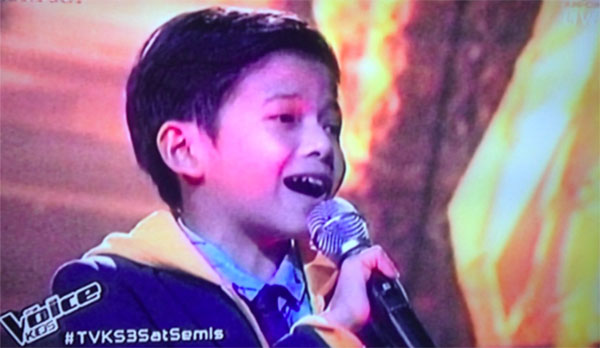 Justin Alva the voice kids philippine ph semifinals live shows