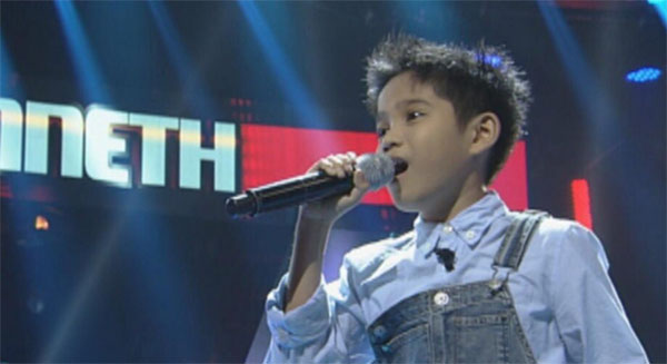Kenneth Bardinas the voice kids ph