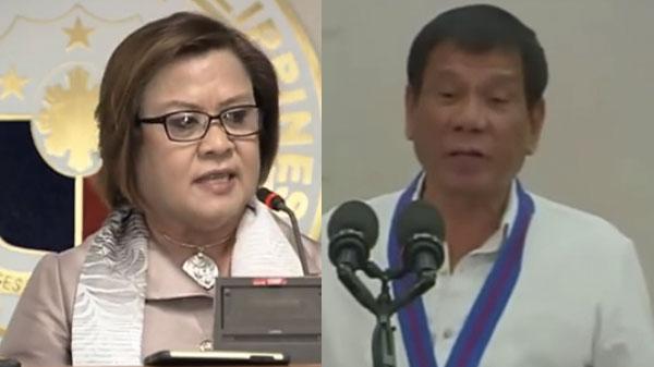 Leila De Lima full statement on President Duterte personal attack video