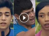 PBB lucky season 7 first nomination night video