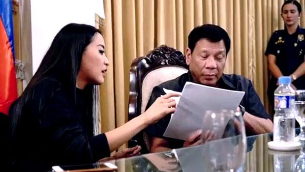 President Duterte appoints Mocha Uson a Customs social media consultant
