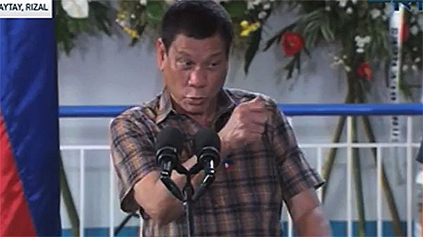 President Duterte says De Lima has a new boyfriend named Warren