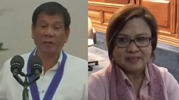 President Duterte slams immoral Senator, Leila De Lima video