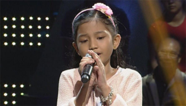 Princess Rabara the voice kids ph