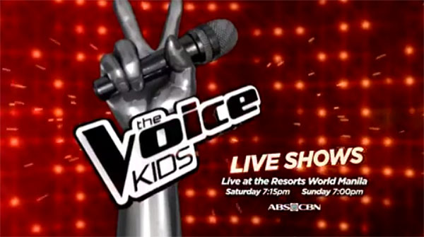 The Voice Kids Philippines Live Semifinals Live Shows
