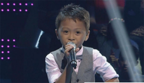 Timoty Pepito the voice kids ph