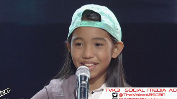 Xylein Herrera the voice kids ph