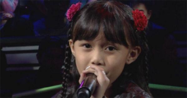 Yessha Calzada sing offs the voice kids ph