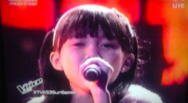 Yessha dela Calzada the voice kids ph semifinals
