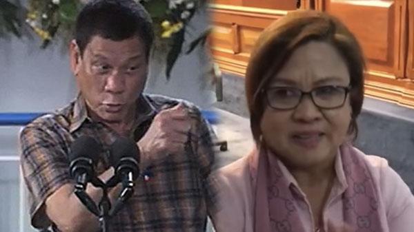 President Duterte tells De Lima to Resign as Senator