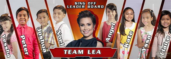 team lea sing off the voice kids ph