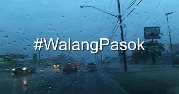 Walang Pasok: Class suspensions for Thursday, June 14, 2018