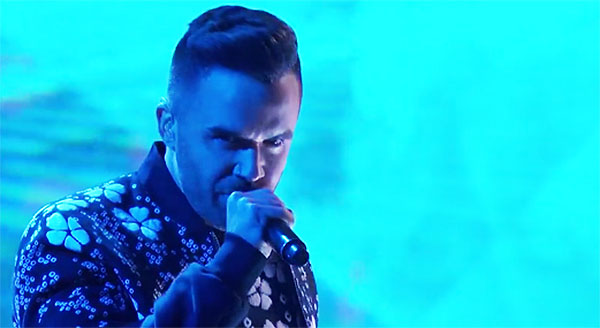 Brian Justin Crum sings Everybody Wants to Rule the World AGT semifinals