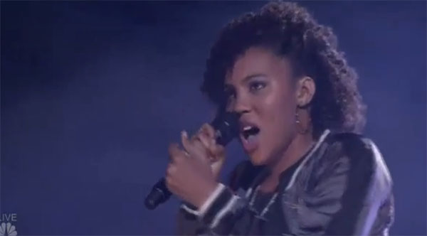 Jayna Brown agt semifinals