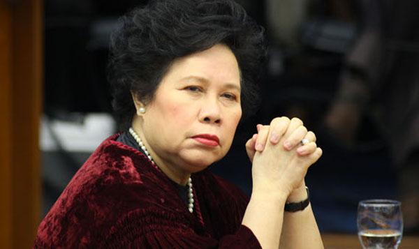 Miriam Defensor-Santiago passes away at 71
