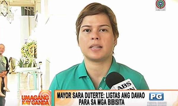 Sara Duterte offers 2M reward for Davao bombing culprits
