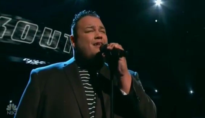 Christian Cuevas sings 'Superstar' on The Voice Knockouts