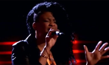 Courtney Harrell sings 'Let It Go' on The Voice Blind Auditions