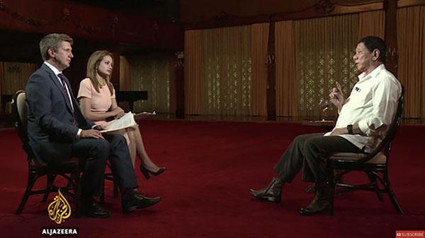 duterte-interview-with-al-jazeera-video