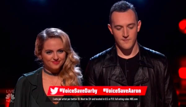 darby-walker-eliminated-aaron-gibson-saved-the-voice-top-10-revealed