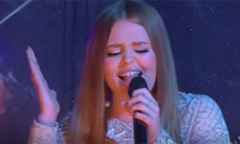 Watch: Amalia Foy sings 'Set Fire To The Rain' on X Factor Australia 2016 Grand Final