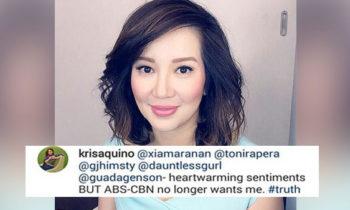 ABS-CBN no longer wants Kris Aquino
