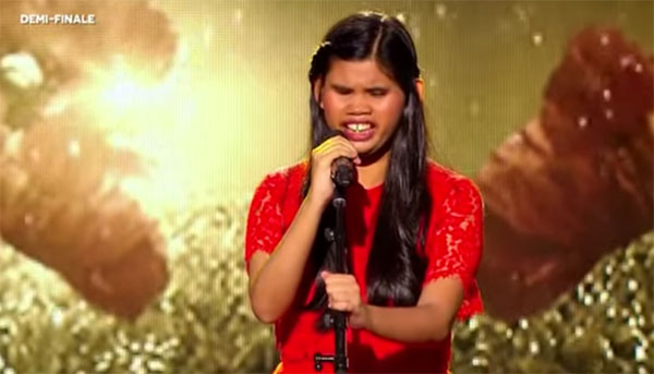 Blind Pinay singer Alienette Coldfire advances to France Got Talent Finals
