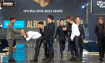 Watch: EXO wins Album of the Year at 2016 MAMA Awards