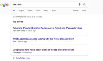 Google replaces 'In the News' box section with 'Top Stories'