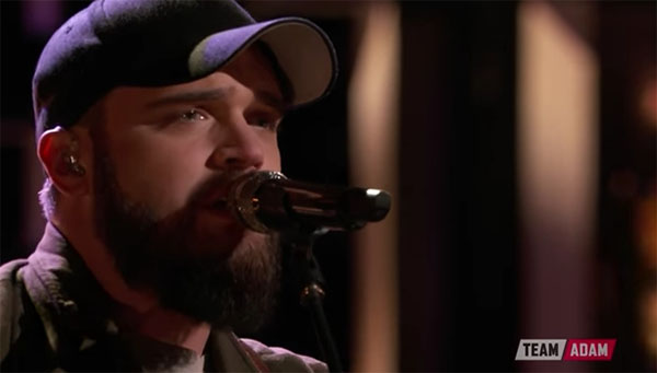 Josh Gallagher sings 'Pick Any Small Town' on The Voice Live Finale