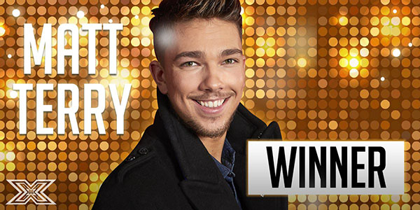 Image result for Matt Terry Wins X Factor 2016